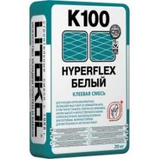 LITOKOL HYPERFLEX K100 Цементный клей Белый,Серый